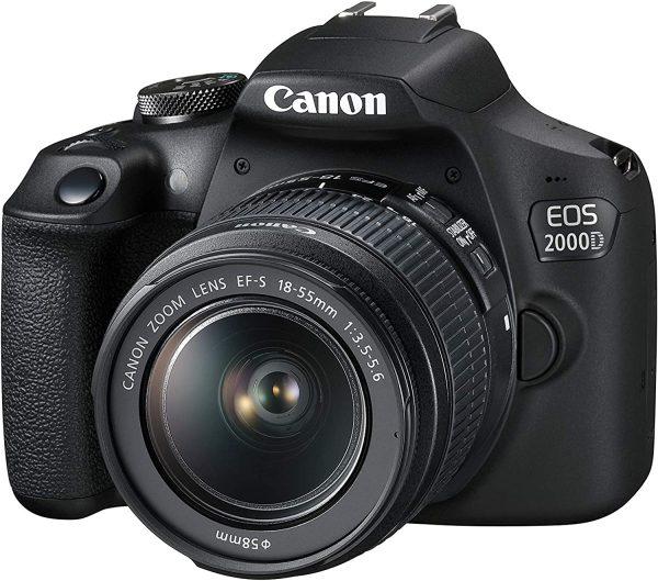 دوربین دیجیتال کانن مدل EOS 2000D به همراه لنز 18 55 میلی متر DC III
