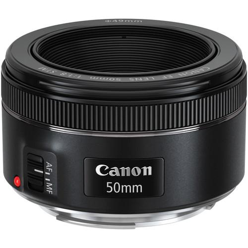 لنز کانن 50mm f/1.8
