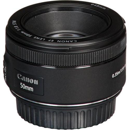قیمت لنز canon 50mm f/1.8