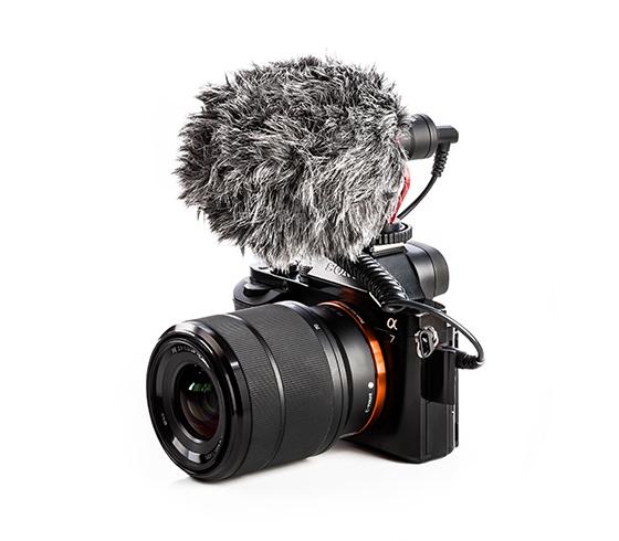 اتصال به دوربین و انواع گوشی هوشمند و کامپیوتر و ضبط کننده میکروفون کاردیود بویا مدل Boya BY MM1