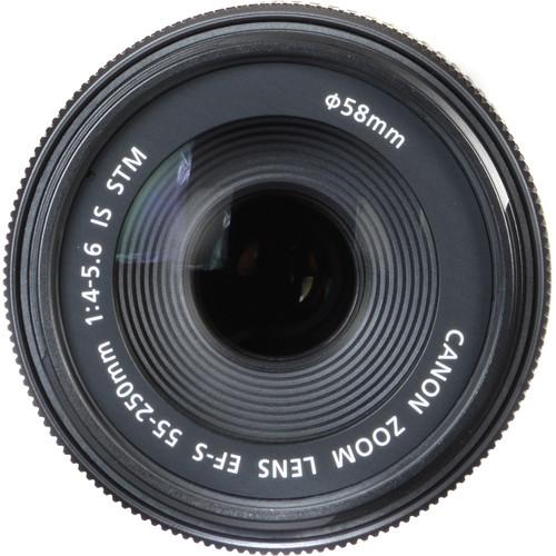 قیمت لنز کنون 55-250