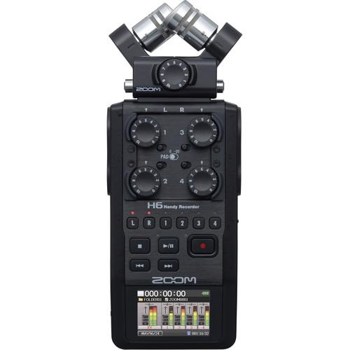 خرید قیمت و بررسی رکوردر حرفه ای صدای زوم Zoom H6 در دوربین استور