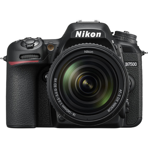 دوربین نیکون D7500 با لنز 18 140