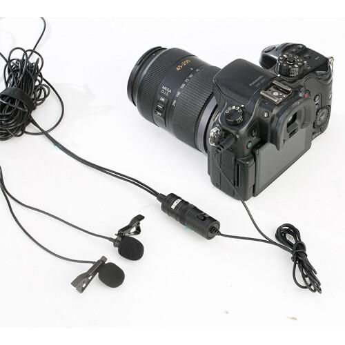 سازگاری با دوربین های DSLR میکروفون بویا Boya BY M1DM