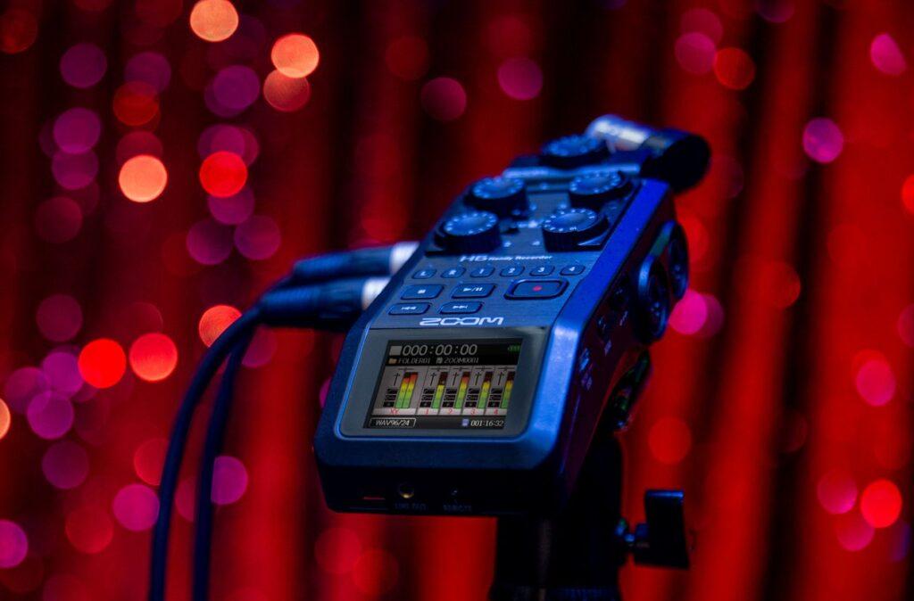 فرمت های مختلف و کیفیت های قابل تنظیم برای صدا بوسیله رکوردر حرفهای صدا زوم Zoom H6