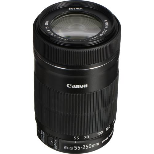 لنز کانن مدل 250-55 f/4-5.6 is stm