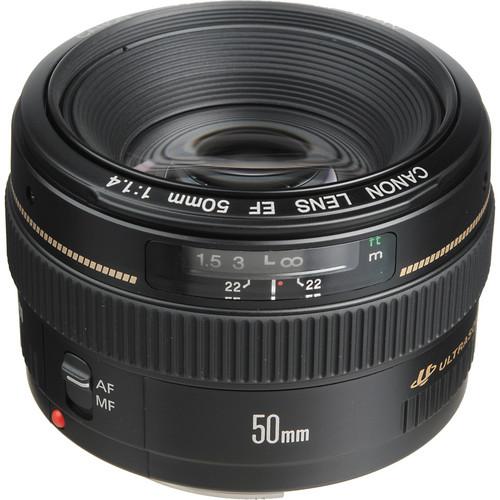 خرید لنز canon 50mm f/1.4