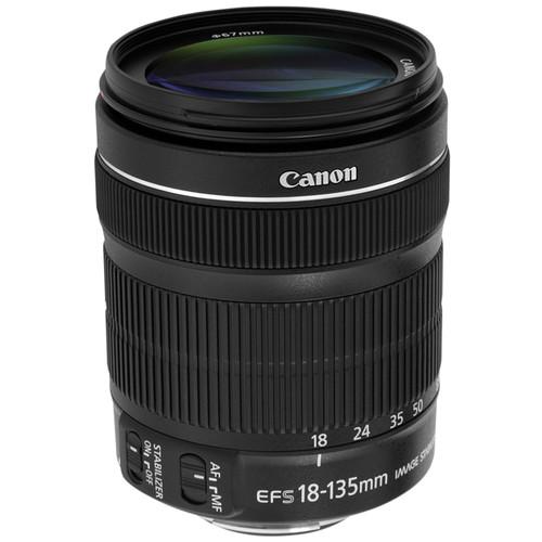 لنز کانن EF S 18 135mm F3.5 5.6 IS STM