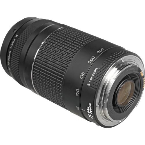 مانت فلزی لنز کانن Canon EF 75 300mm F4 5.6 III