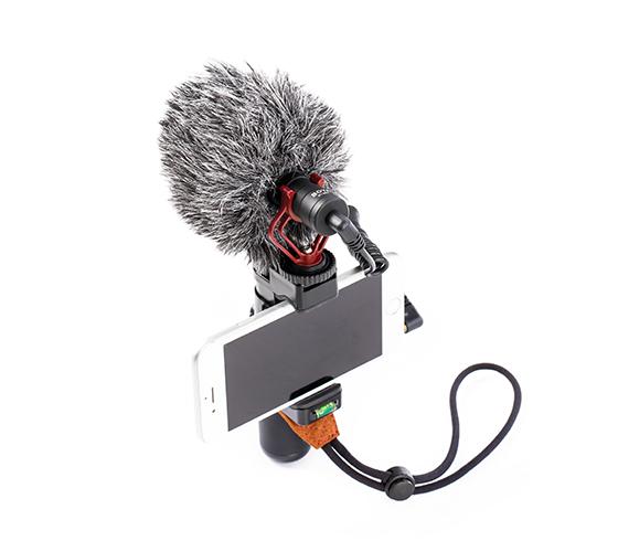 مانت گوشی میکروفون کاردیود بویا مدل Boya BY MM1