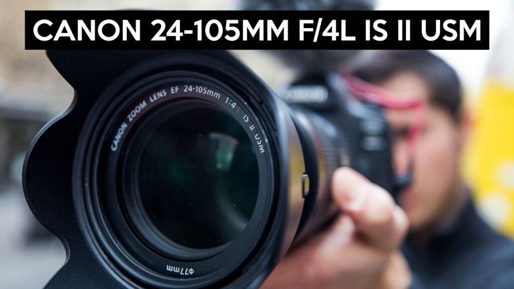 مشخصات لنز کنون 24 105 IS II USM