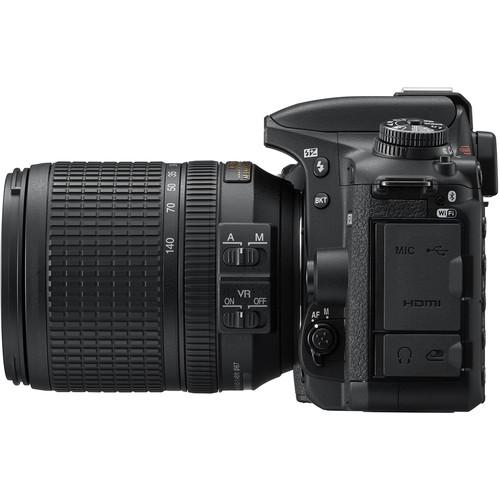پورت های دوربین نیکون D7500 Kit 18 140