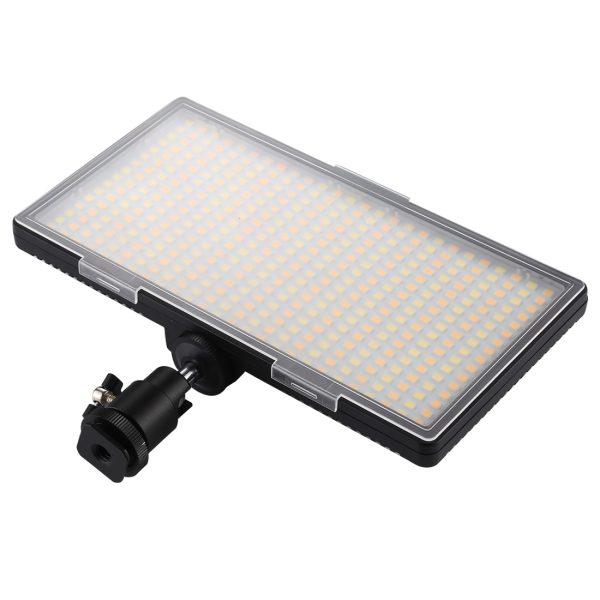 بررسی و مشخصات نور ثابت اس ام دی Video LED Light 416 قطعه