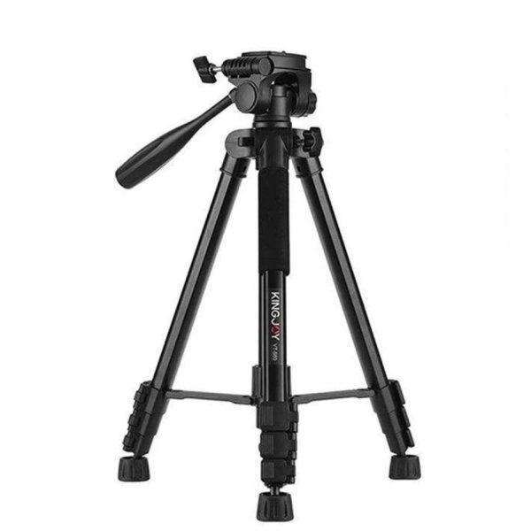 خرید سه پایه دوربین کینگ جوی مدل VT 866 با بهترین قیمت در دوربین استور