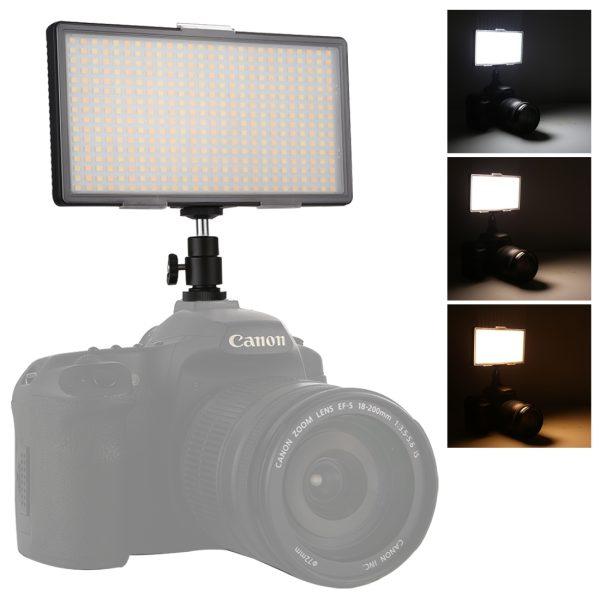 خرید نور ثابت اس ام دی Video LED Light 416 قطعه در دوربین استور