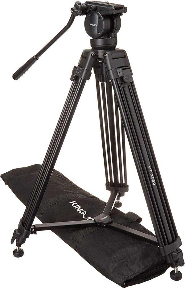 سه پایه دوربین کینگ جوی مدل Kingjoy VT 2500