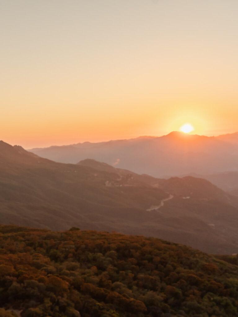 غروب خورشید گرفته شده با دوربین اسمو پاکت 2 Osmo Pocket 2