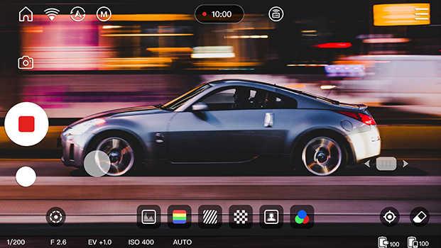 قابلیت ViaTouch 2.0 در استابلایزر دوربین ویبیل اس Zhiyun WEEBILL S