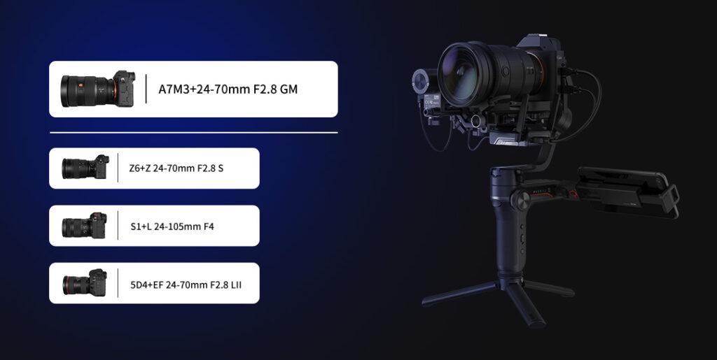 مشخصات استابلایزر دوربین ویبیل اس Zhiyun WEEBILL S