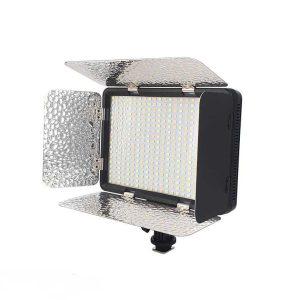 نور ثابت اس ام دی شید دار مدل Professional Video Light LED 396 AS