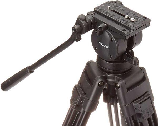 هد سه پایه دوربین کینگ جوی مدل Kingjoy VT 2500