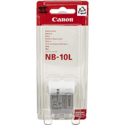 خرید باطری طرح اصلی کانن Canon NB 10L با بهترین قیمت در دوربین استور