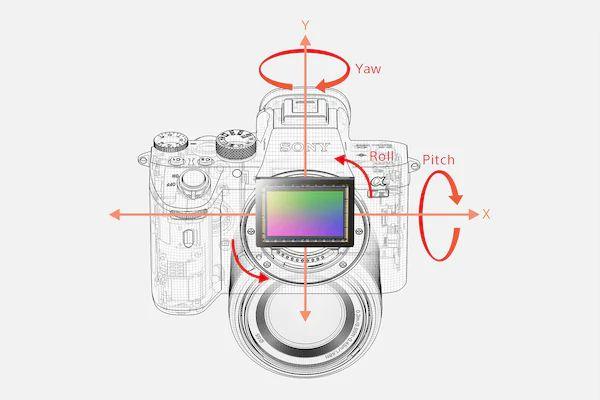 استابلایزر 5 محوره دوربین سونی مدل A7 III