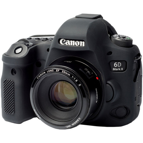 خرید کاور ژله ای دوربین کانن 6D Mark Ii رنگ مشکی در دوربین استور