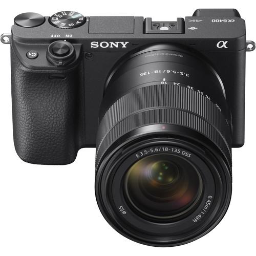 دوربین بدون آینه سونی Sony Alpha A6400 Kit 18 135mm در دوربین استور