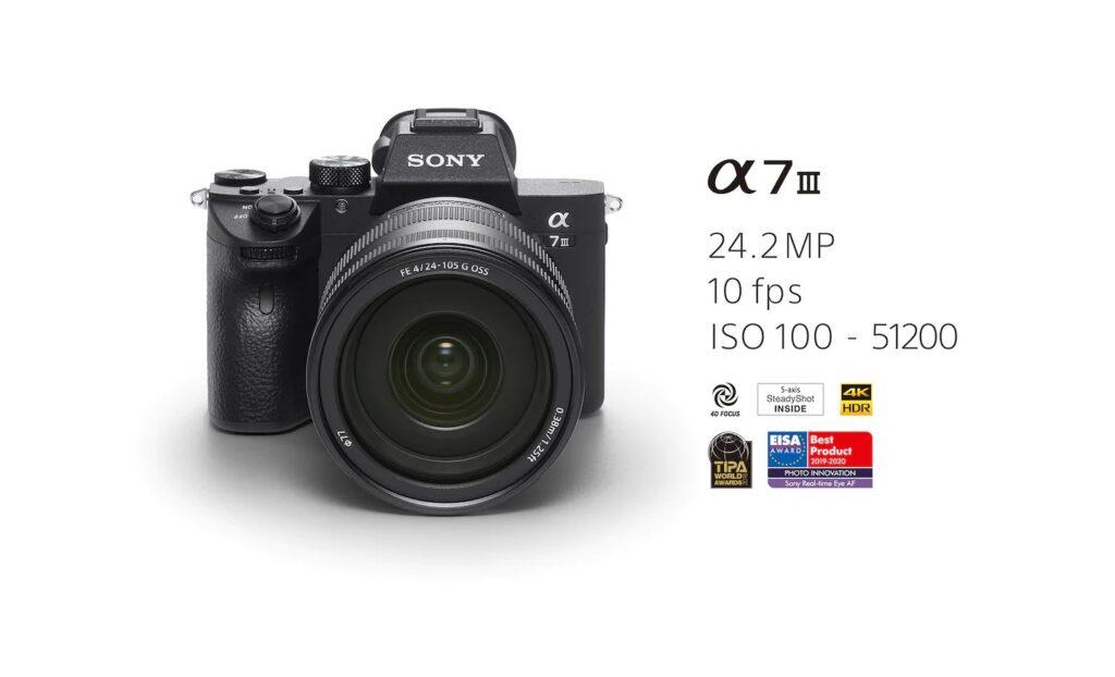 مشخصات دوربین بدون آینه سونی Sony Alpha 7 III